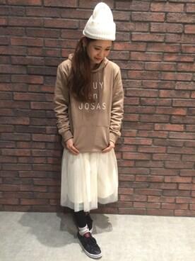 「SSフレアチュールスカート 712384(Heather)」 using this SharingRoom(RAGEBLUE)なんばパークス店|nishiuchi kana looks