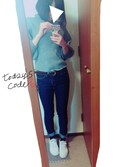 「Reebok Men's Club C Extra Wide 4E Casual Sneakers from Finish Line(Reebok)」 using this naco looks