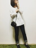「Miu Miu Matelassé leather shoulder bag(Miu Miu)」 using this 舞桜 looks