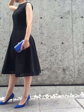 THE DRESS|THEDRESSさんの(FOXEY NEW YORK|フォクシーニューヨーク)を使ったコーディネート