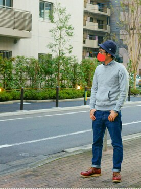 「Red Wing Shoes Rubber-Soled Leather Boots(Red Wing Shoes)」 using this sshm looks