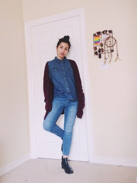 「LEVI'S RED TAB Denim shirts(Levi's)」 using this Isabella looks