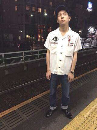 SIXTY ONE ARROW ミント神戸店|森山 卓哉さんの(COLE HAAN|コールハーン)を使ったコーディネート