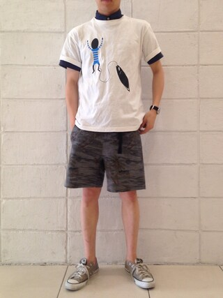 SIXTY ONE ARROW ミント神戸店|森山 卓哉さんの(COOCHUCAMP|クーチューキャンプ)を使ったコーディネート