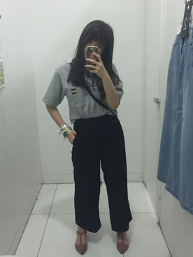 (FOREVER 21) using this P一Y一Y looks