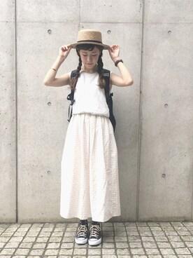 工藤春佳さんの(THE NORTH FACE|ザノースフェイス)を使ったコーディネート
