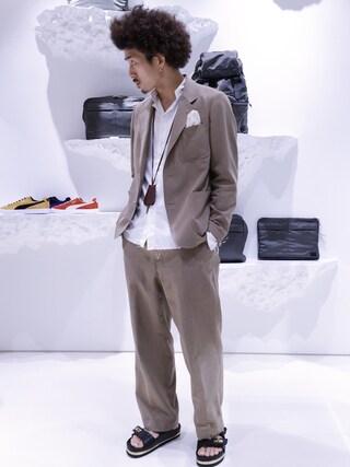 ユナイテッドアローズ 原宿本店 メンズ館|岡本 一宏さんの(The Stylist Japan|ザスタイリストジャパン)を使ったコーディネート