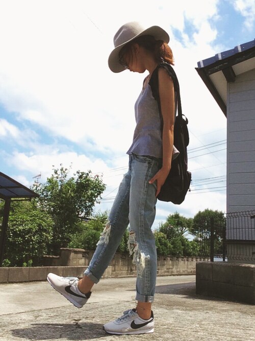 ☻おまゆさんの「Khaju:フェルトハット②(Khaju)」を使ったコーディネート
