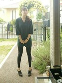「FOREVER 21 Faux Leather Leggings(Forever 21)」 using this himito looks