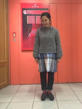 ゆさんの(Engineered Garments|エンジニアードガーメンツ)を使ったコーディネート