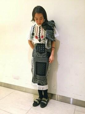 MIDWEST TOKYO WOMEN|mioさんの(TOGA PULLA|トーガ プルラ)を使ったコーディネート
