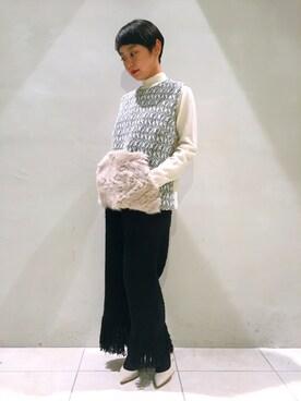 MIDWEST TOKYO WOMEN|mioさんの(muller of yoshiokubo|ミュラー オブ ヨシオクボ)を使ったコーディネート