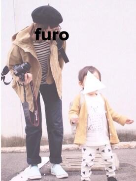 furo │ORCIVALのTシャツ・カットソーコーディネート