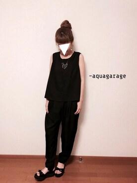 aquagarage|アクアガレージさんの(aquagarage)を使ったコーディネート