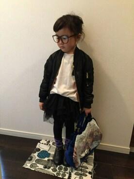 yu-riさんの(韓国子供服)を使ったコーディネート