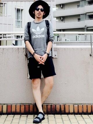 MasaakiOoueさんの「WEGO/メタルMIXロングビーズネックレス(WEGO|ウィゴー)」を使ったコーディネート