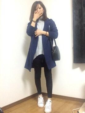 ♡Risa♡さんの「ビンテージフリース チェスターコート(SEVENDAYS=SUNDAY)」を使ったコーディネート