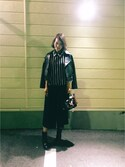 chikaさんの「UBCE タックガウチョパンツ 2†◆(UNITED ARROWS|ユナイテッドアローズ)」を使ったコーディネート