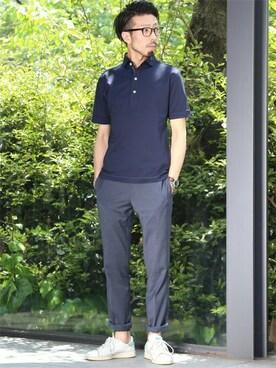 MEN'SMELROSE HEAD OFFICE( SHOP STAFF)|hiroshiさんの(MEN'S MELROSE|メンズ メルローズ)を使ったコーディネート