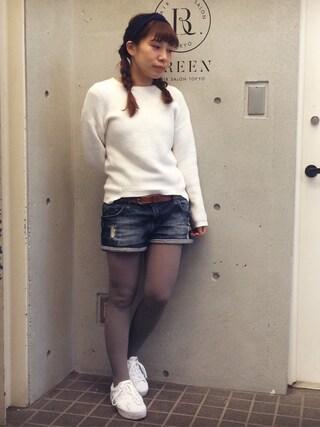 Hatsumiさんの「adidas SUPERSTAR RIZE W/ BCadidas SUPER/S RIZE W(adidas|アディダス)」を使ったコーディネート