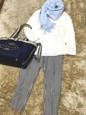 かしさんの「【MOM雑貨】マザーズ バッグ(TOCCA|トッカ)」を使ったコーディネート