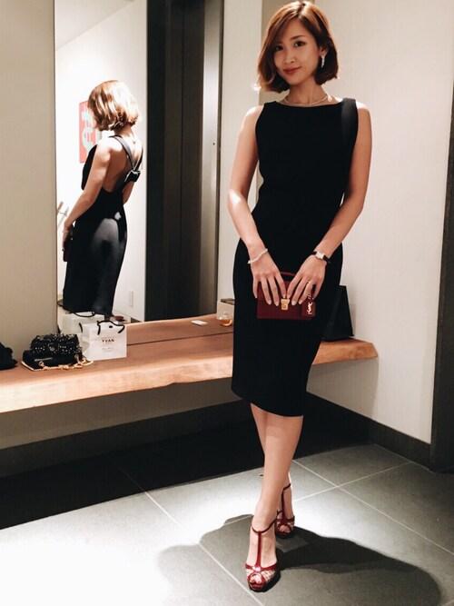 紗栄子|ワンピースを使ったコーディネート Wear