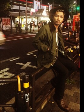 中山【CHU-ZAN】さんの「Barbour(Barbour)」を使ったコーディネート