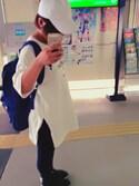 「Nike Three-Pack No-Show Cushioned Cotton-Blend Socks(Nike)」 using this Ami Matsuura looks