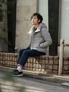 JOURNAL STANDARD relume 自由が丘店|sasakiさんの「フラノウールダウンブルゾン#(JOURNAL STANDARD relume|ジャーナルスタンダード レリューム)」を使ったコーディネート