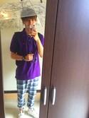 tomoyäさんの「Ken Kagami×JUNRed別注ビニール傘(JUNRed ジュンレッド)」を使ったコーディネート