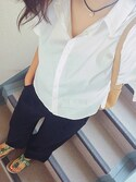 「FOREVER 21 Boxy Cotton-Blend Shirt(Forever 21)」 using this kona looks