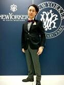 NEWYORKER BY KEITA MARUYAMA スタッフさんの「スターモチーフ 立体刺繍ピンバッチ(NEWYORKER BY KEITA MARUYAMA|ニューヨカーバイケイタマルヤマ)」を使ったコーディネート