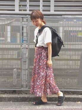 Kastane 静岡店|hikaru suzukiさんの「シフォンプリントSK(Kastane)」を使ったコーディネート