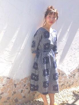 Kastane 静岡店|hikaru suzukiさんの「バンダナ柄OP(Kastane)」を使ったコーディネート