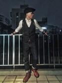 「ASOS BRAND ASOS Twill Shirt In Long Sleeve(Asos)」 using this Eason Chang looks