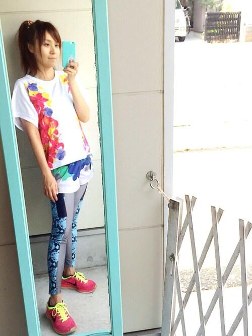 南々井梢さんの(adidas by Stella McCartney)を使ったコーディネート