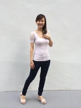 Larina Liaoさんの(Love Bonito|ラブボニート)を使ったコーディネート