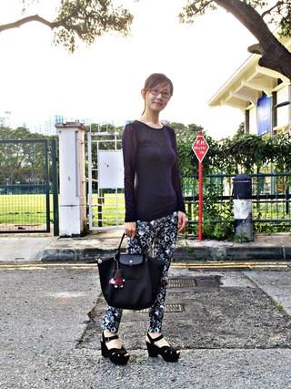 Larina Liaoさんの(H&M|ヘンネスアンドモーリッツ)を使ったコーディネート