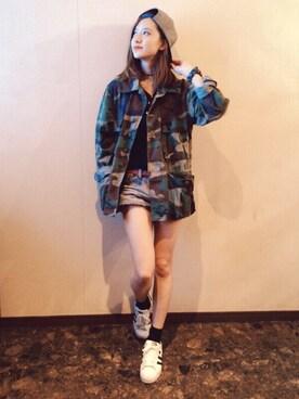 miyu.kさんの(G-SHOCK|ジーショック)を使ったコーディネート