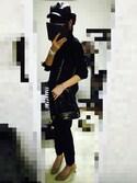 Kさんの「【軽量/足幅ゆったり3E】ミドルヒールプレーンパンプス(RANDA|ランダ)」を使ったコーディネート