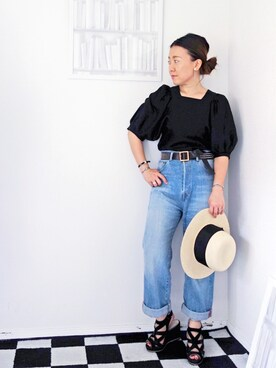 minoriTY-fun|水無川ミワさんの(OSHIMA REI|オオシマ レイ)を使ったコーディネート