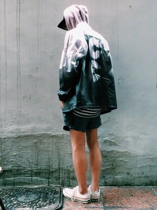 RECYDE.さんの「CavEmpt PVC Jacket(C.E|シーイー)」を使ったコーディネート