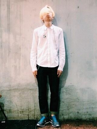 RECYDE.さんの「Dress Shirts(JIL SANDER|ジルサンダー)」を使ったコーディネート
