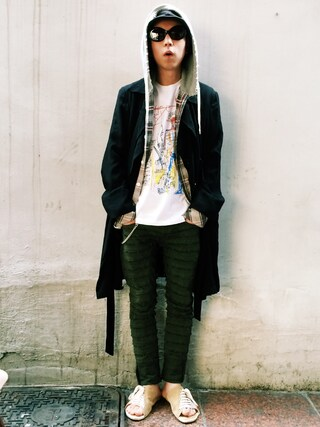 RECYDE.さんの「About the MoMA Special Edition JEAN-MICHEL BASQUIAT(UNIQLO|ユニクロ)」を使ったコーディネート