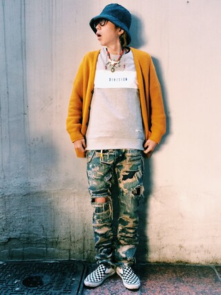 RECYDE.さんの「Undercoverism 85 Jeans(UNDERCOVERISM|アンダーカバーイズム)」を使ったコーディネート
