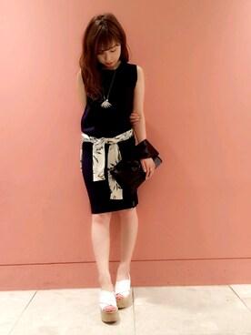FRAY I.D|nozomi mizuguchiさんの(FRAY I.D|フレイ アイディー)を使ったコーディネート