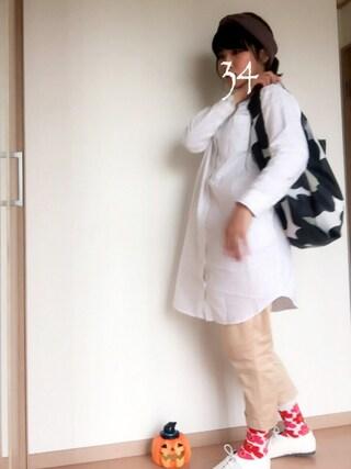 34さんの「Pieni Unikko / SMARTBAG(marimekko|マリメッコ)」を使ったコーディネート