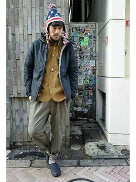 BEAVER渋谷店|naouさんの「THE NORTH FACE/ザ・ノースフェイス NSE Traction Mule Lite(THE NORTH FACE)」を使ったコーディネート