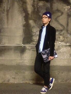 TadahiroMurataさんの(GU|ジーユー)を使ったコーディネート