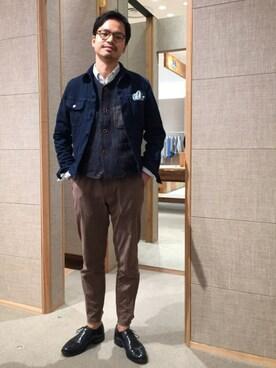 45R 仙台パルコ2店|YOHEYさんの(45R|フォーティファイブ・アール)を使ったコーディネート